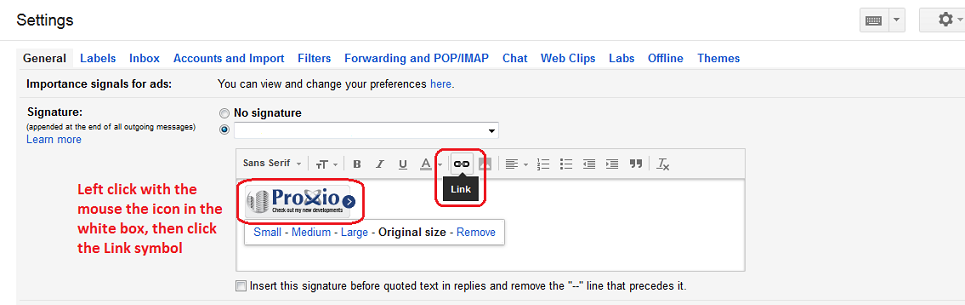 how to change my signature on my gmail